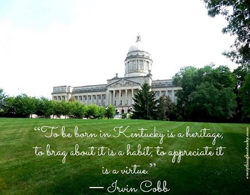 State Capitol - Frankfort, Kentucky - Copy